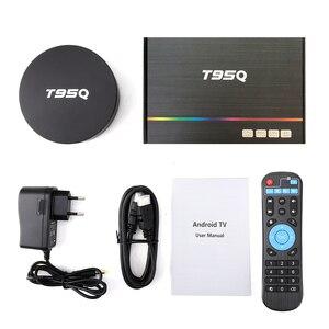 Image 5 - T95Q 4K akıllı TV kutusu Android TV kutusu Android 9.0 Android kutusu 4GB RAM 32GB 64GB ROM Amlogic S905X3 2.4 & 5G WIFI BT4.0 USB 3.0 H.265