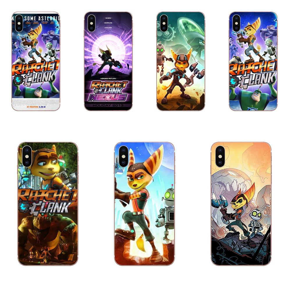 Game Ratchet And Clank TPU Phone For Huawei Honor 4C 5A 5C 5X 6 6A 6X 7 7A 7C 7X 8 8C 8S 9 10 10i 20 20i Lite Pro image