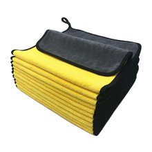 Serviette en microfibre pour lavage de voiture, chiffon de nettoyage, séchage, détail automatique