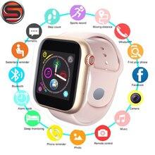 Z6 Bluetooth חכם שעון תמיכת אנדרואיד טלפון 2G SIM TF כרטיס שעון מצלמה מסך מגע נשים ספורט שעון PK v8 A1 Smartwatches