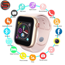 Z6 Bluetooth Smart Watch Support Android Phone 2G SIM TF Card Watch Camera Touch Screen Women Sports Clock PK V8 A1 Smartwatches