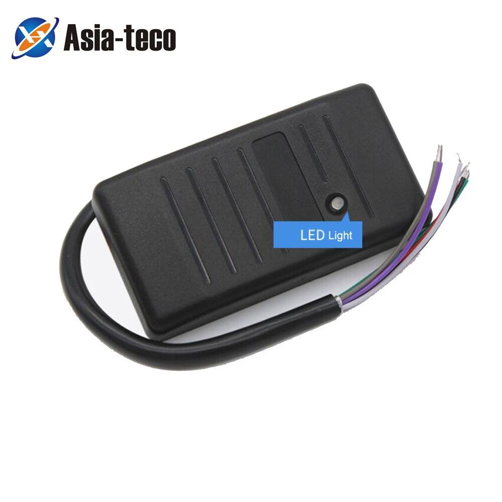 Waterproof 125khz RFID EM ID Card Access Control Reader RFID Card Reader Wiegand 26 34 Card Reader LED Indicators Security