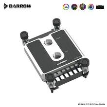 Barrow CPU Water Block Cooler CPU Use for AMD RYZEN AM3/ AM4 / POM / Brass Metal Top / A-RGB Light compatible 5V GND 3PIN Header