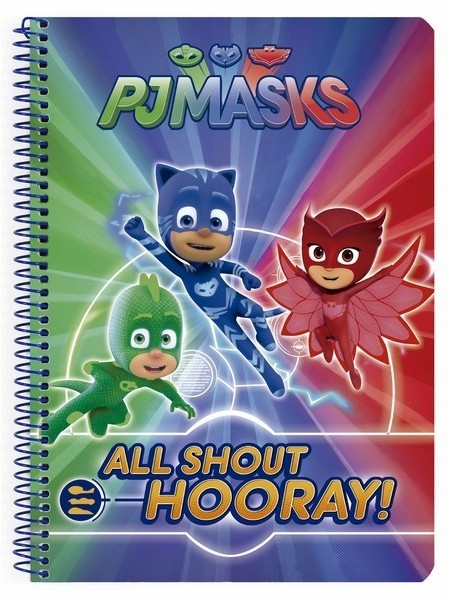 BOOK BATHROOM 80 H HARDCOVER PJMASKS