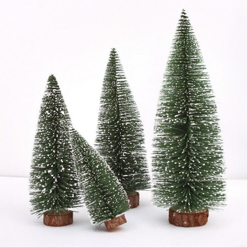 Christmas Tree Small Pine Tree Place In The Desktop Party Gift Decor Christmas Party Decoration Supplies image