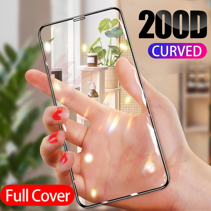 200D Protective Glass For IPhone X XS 6 6S 7 8 Plus Glass Screen Protector For IPhone 11 Pro MAX XR X Screen Protection