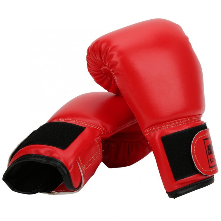 1Pair Breathable Boxing Gloves Children Sanda Sparring Sandbag Mitts Training#SU