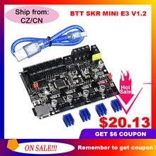 Плата управления BIQU BIGTREETECH SKR MINI E3 V1.2 32 бит, интегрированная плата управления TMC2209 UART ler TMC2208, Модернизированный 3D принтер Ender3 Pro