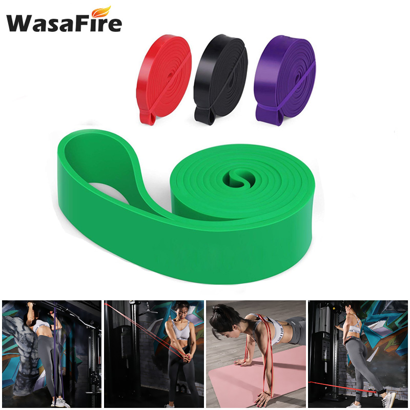 Fitness Gum Resistance Bands Workout Loop Exercise Elastic Band Latex Expander Strength Pilates Yoga Training Equipment Unisex