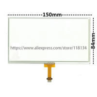 6.1 inch Touch Screen Panel Glass Digitizer Navigation LA061WQ1(TD)(04) for TOYOTA Corolla Camry RAV4 Prius C