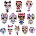 Оригинальный воздушный шар LOL куклы с сюрпризом, милые фигурки, игрушки, украшение для вечевечерние Lol, фольгированные воздушные шары для до...
