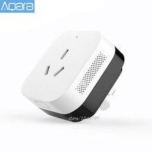 Aqara ar condicionado companheiro funciona com sensor de temperatura e umidade gateway função linkage mihome smart app controle