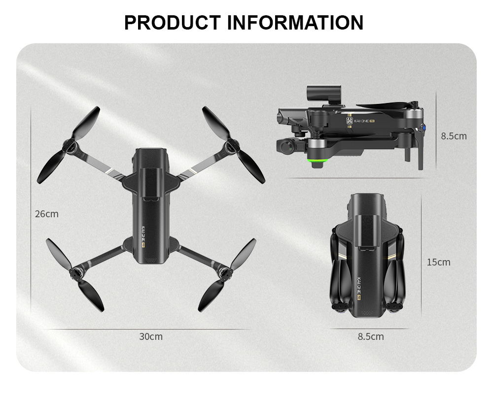 He962c43e42c04293bf96b3b23d53e286C - KAI ONE MAX GPS Obstacle Avoidance Drone Professional 4K/8K HD Dual Camera 3 Axis Gimbal Brushless RC Foldable Quadcopter Gifts