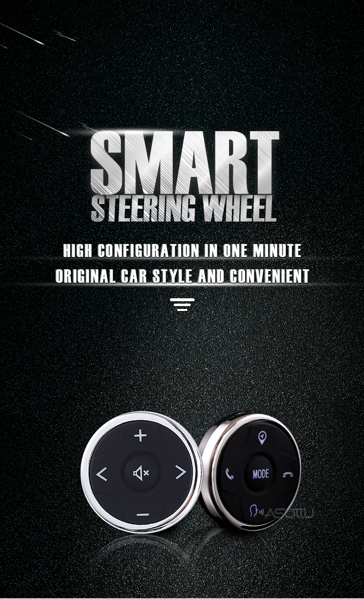 Car Wireless Universal Steering Wheel buttons Smart steering wheel Remote Controller Kit canbus control