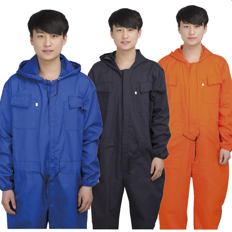 Dust-proof And Anti-fouling Protective Clothing For Men's Caps Mens Work Overall