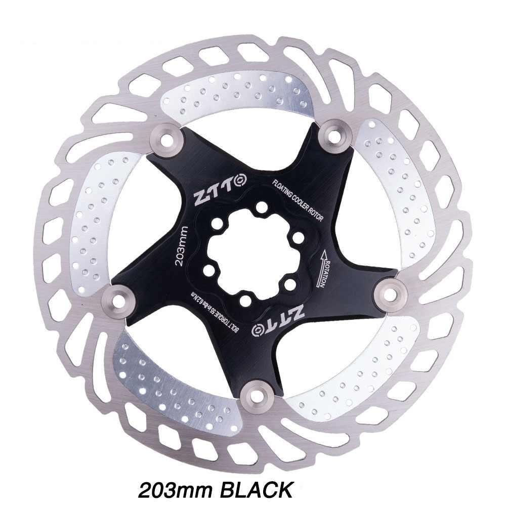 Vtt vélo frein à disque refroidissement Rotor flottant 140/160/180/203mm 6 boulons Rotor pour VTT RT99 RT86