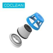 COCLEAN Cleanfly – filtres d'aspirateur à main pour voiture, Kits de pièces de rechange, filtre HEPA, adaptateur domestique