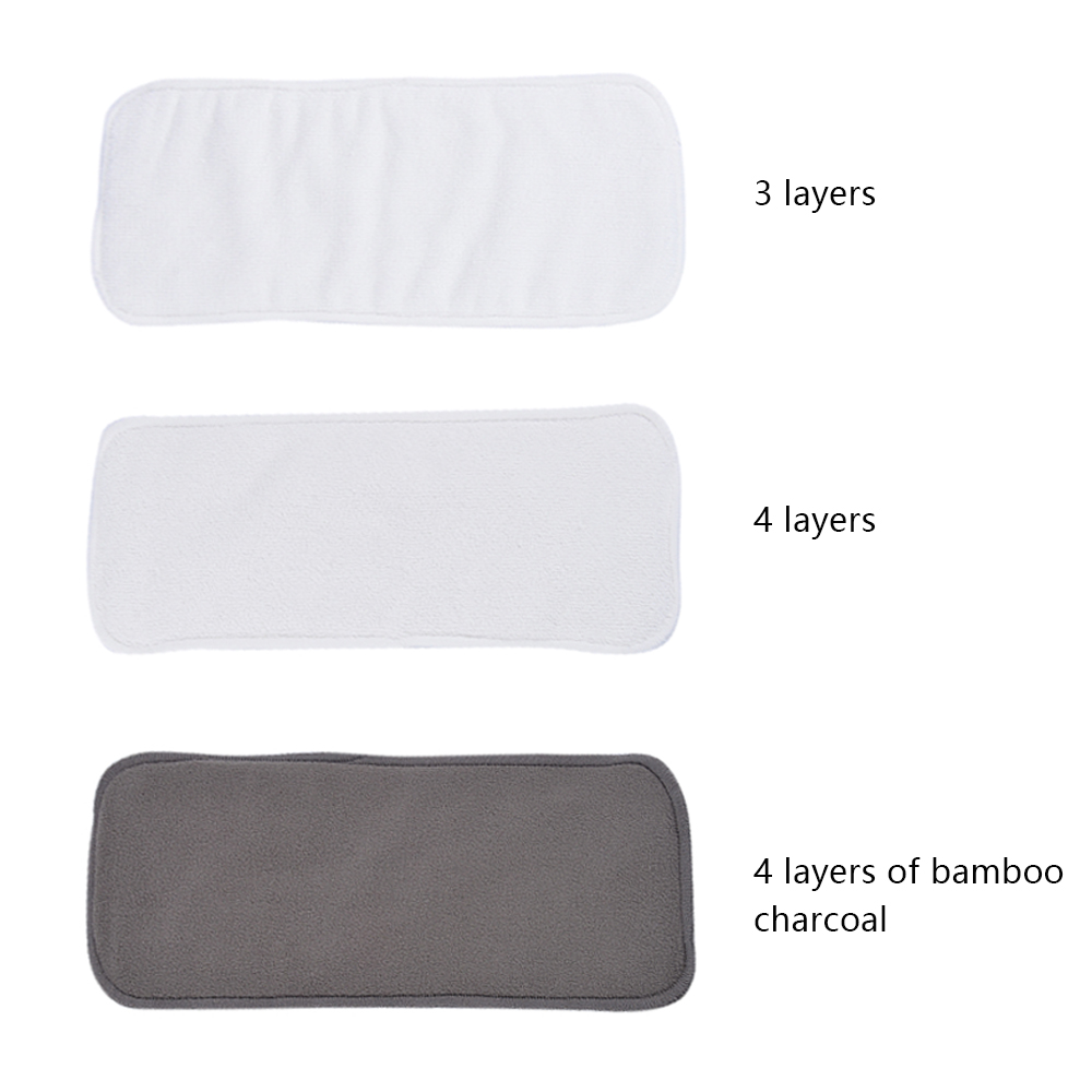 CYSINCOS Reusable Washable Inserts Boosters Liners Real Pocket Cloth Nappy Diaper Cover Wrap Insert Microfibre Drop Shipping