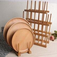 Бамбуковая тарелка чаша чашка книжный горшок крышка разделочная доска сушильная стойка сушилка для мытья кухни сушилка для посуды сушилка