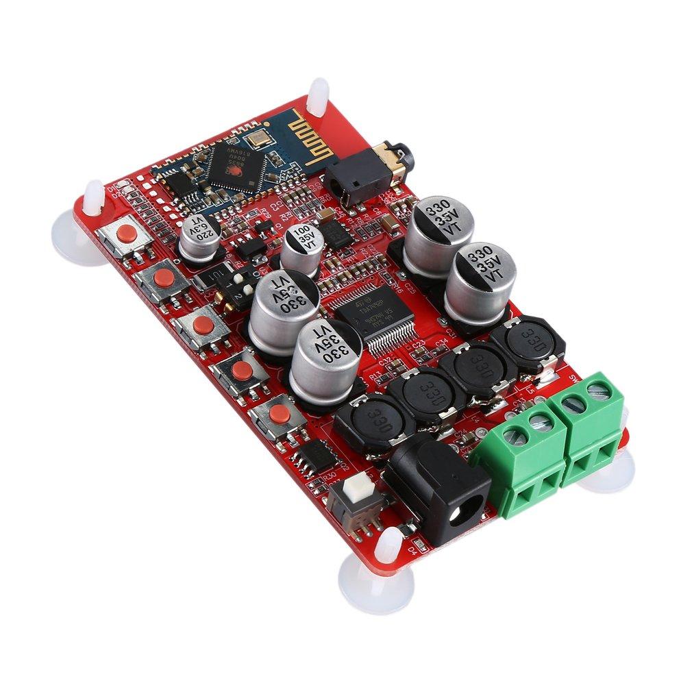 TDA7492P Power Amplifier Board Audio Receiving Digital Power Amplifier Board Csr4.0 Hf01 Durable Red Color