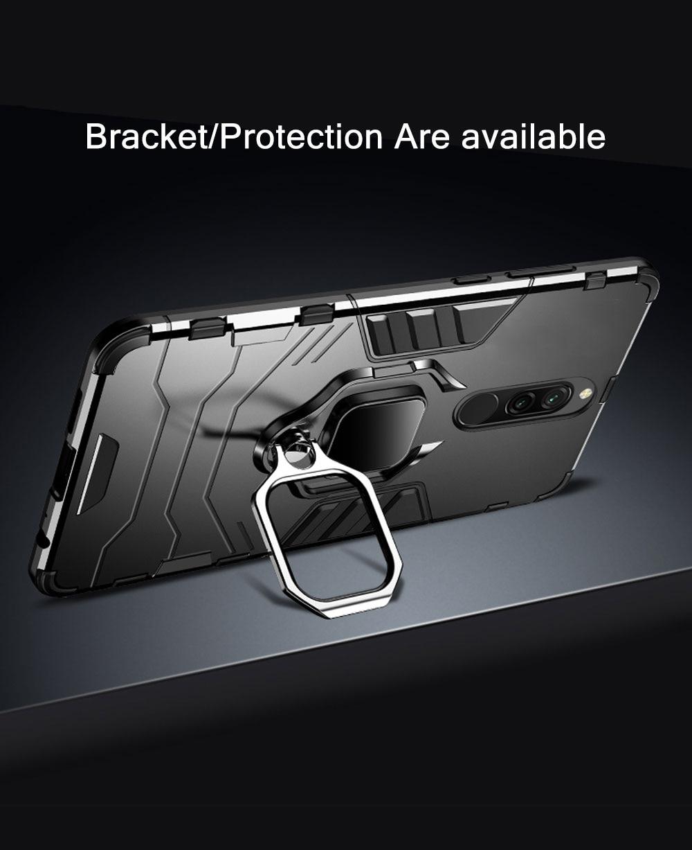 He963e84b3fb84e4fa5067b04e911561ay Armor Case for Redmi 8 8A Case Magnetic Car Phone Holder TPU+PC Bumper Cover on for Xiaomi Redmi 8 8A 8 A Global Version Case