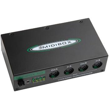 Nowe instrumenty muzyczne MIDI Box interfejs MIDI USB łączą się z 64 kanałami MIDI tanie i dobre opinie CN (pochodzenie)