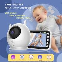 Baby Monitor con videocamera Wireless videosorveglianza a colori Baby Cam sicurezza elettronica Babyphone Cry Record di alimentazione per bambini