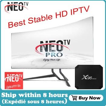 X96 mini Neo pro TV 4K French IPTV Europe IPTV UK IPTV M3U IPTV USA Belgium UK IPTV code Neo one year Android Smart TV Box only