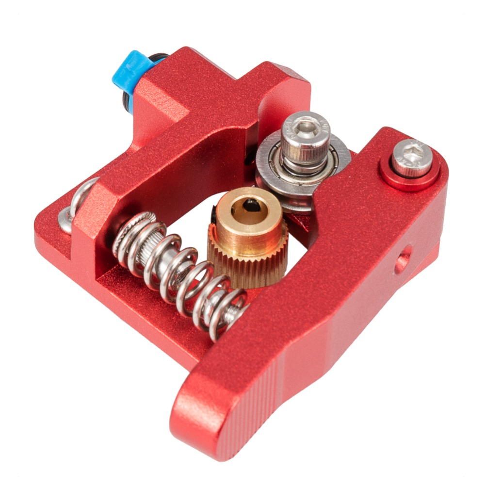 IsMyStore: CREALITY 3D Red Metal MK8 Extruder Aluminum Alloy Block Bowden Extruder 1.75mm Filament for CREALITY 3D Ender3 CR-10 CR-10