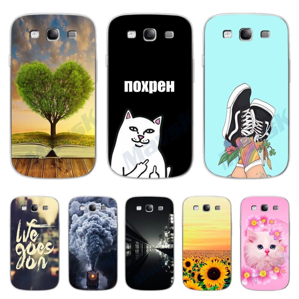 Phone Case For Samsung Galaxy S3 Soft TPU Silicone Cases Cover For Samsung Galaxy S3 Duos Neo S 3 I9300 Back Cover Bumper Fundas