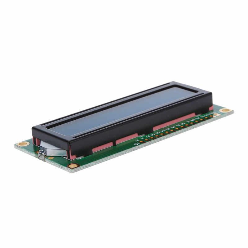 5x1602 16x2 karakter LCD LCM ekran modülü HD44780 denetleyici mavi aydınlatmalı