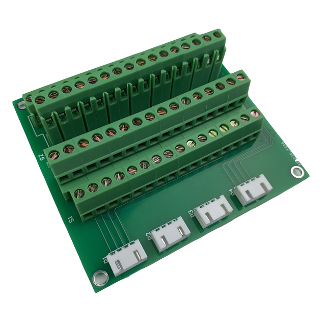 32 Channel Expansion Terminal Light Curtain Wall Self Reset Switch Panel Board For KC868 Smart Home System Manual Control