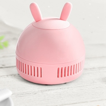 Portable Practical Electric Desktop Vacuum Cleaner Home, Micro-USB By Button Random Dust Collector for Notebook