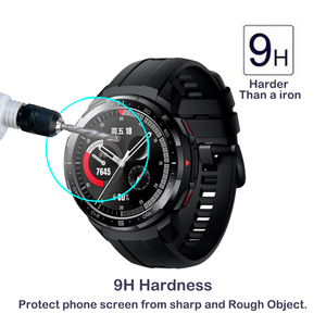 Image 2 - 2.5D Tempered Glass Screen Protector For Huawei Honor Magic Watch 2 GT 2 GT2 42mm 46mm GS Pro Smartwatch Screen Protective Film