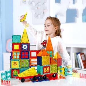 Магнитный конструктор Magna, строительные блоки, обучающие игрушки для детей