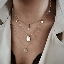 Ywzixln богемное ожерелье золотого цвета с цепочкой из бисера