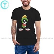 Alien T Shirt MARVIN Thinking T-Shirt Oversized Fun Tee Shirt Men Short Sleeve Summer Cotton Graphic Tshirt