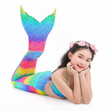 AngelGirl 2020 çocuklar denizkızı kuyrukları Bikini mayo çocuk mayo Mermaid mayo kuyrukları mayo Bikini setleri hiçbir Monofin