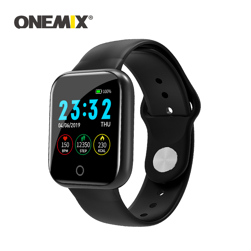 ONEMIX nouveaux hommes femmes en plein air montre de sport intelligente IP67 étanche Fitness Bracelet Bluetooth surveillé Tracker Bracelet podomètre
