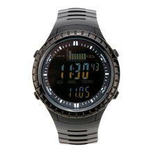 Spovan 5ATM Waterproof Outdoor Fishing Watch Altimeter Barometer Thermometer Multifunctional Digital Wristwatch Fishing Tools