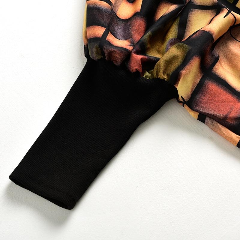 New Fashion Style Pattern Printed Asymmetrical Big Size Dress Fashion Nova Clothing