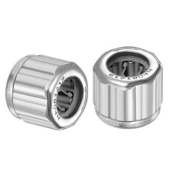 30 sztuk srebrne ośmiokątne łożysko jednokierunkowe walcowe igiełkowe 1 4 #215 0 8 #215 1 2cm pasuje do EasyMop HF081412 wymiana tanie i dobre opinie OOTDTY CN (pochodzenie)