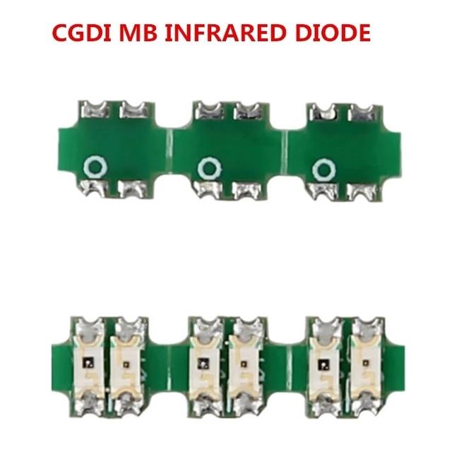 3PCS Original CGDI MB INFRARED DIODE Hardware Update Chip