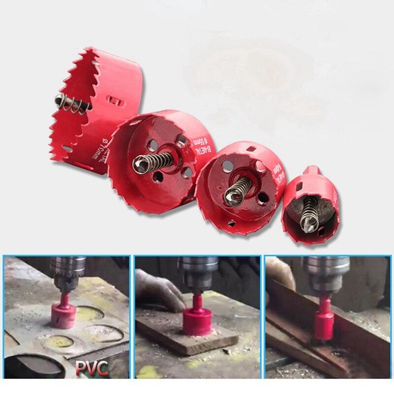53mm M42 Bi-Metal Hole Saw Drill Kit PVC Woodworking Tool Board Plastic Plate Cutting Hole Saw Drill