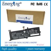 7 4 V 30WH nueva batería de ordenador portátil L16M2PB1 para Lenovo 320-14ABR 320-15ABR 520-15IKBR Yi 5000-15 serie L16L2PB3 L16M2PB2