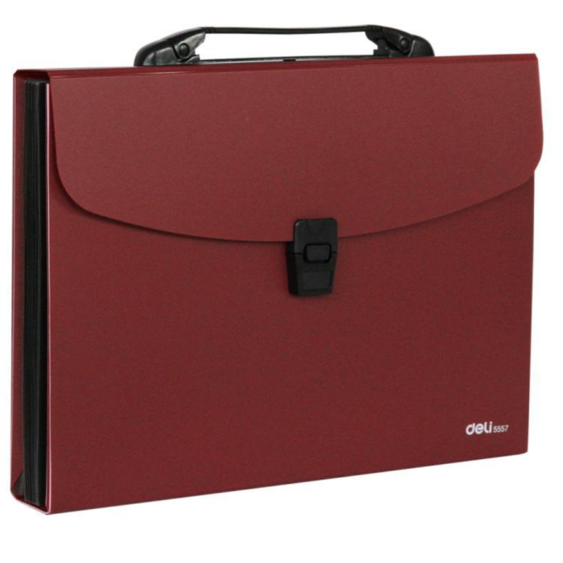 DL Effective 5559 A4 12 Grid Organ Bag Package Material Briefcase Bag  Stationery For Office Supplies Students  Stationery For