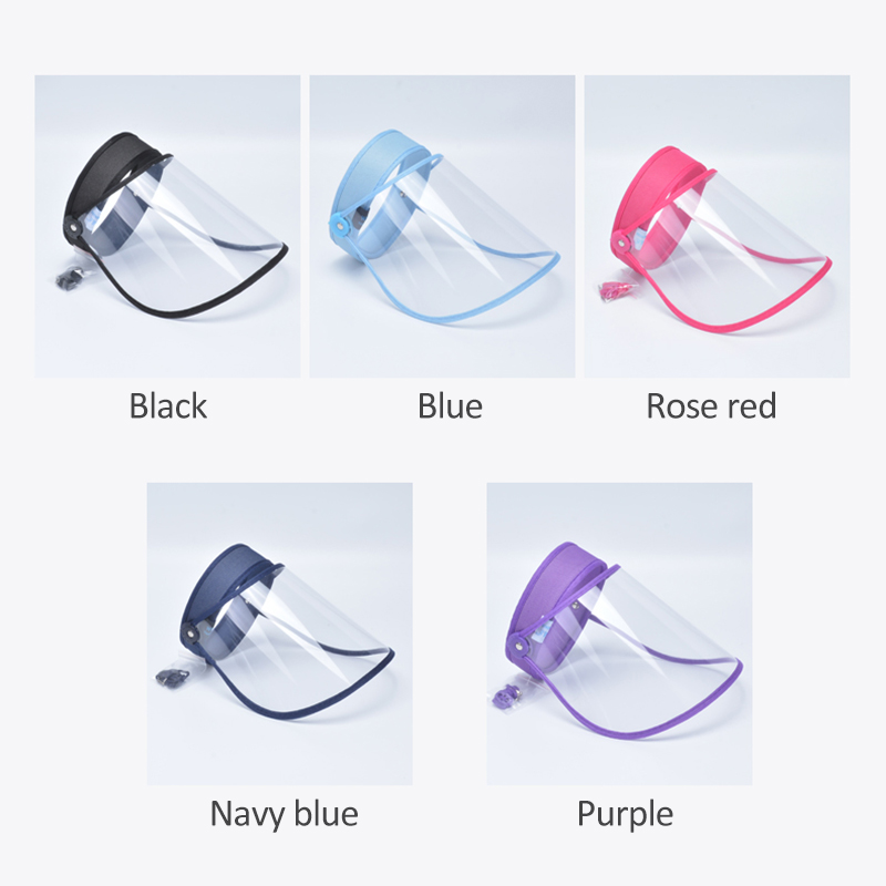 New Cap Anti-droplet Saliva Hair Ring Hat Outdoor Cap Adjustable Plastic Full Face Cover Hot Sale