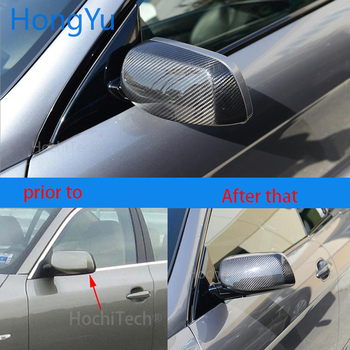 For BMW 5 series E61 wagon touring 545i 550i 2004-07 100% Real Carbon Fiber Rear View Mirror Cover Side Mirror Caps car styling