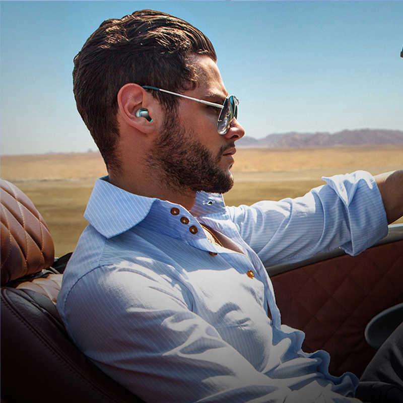 سماعة بلوتوث 5.0 TWS 1000mah قوة البنك سماعة لاسلكية في الأذن HIFI سماعات الرياضة يدوي دعوة ميكروفون آيفون شاومي