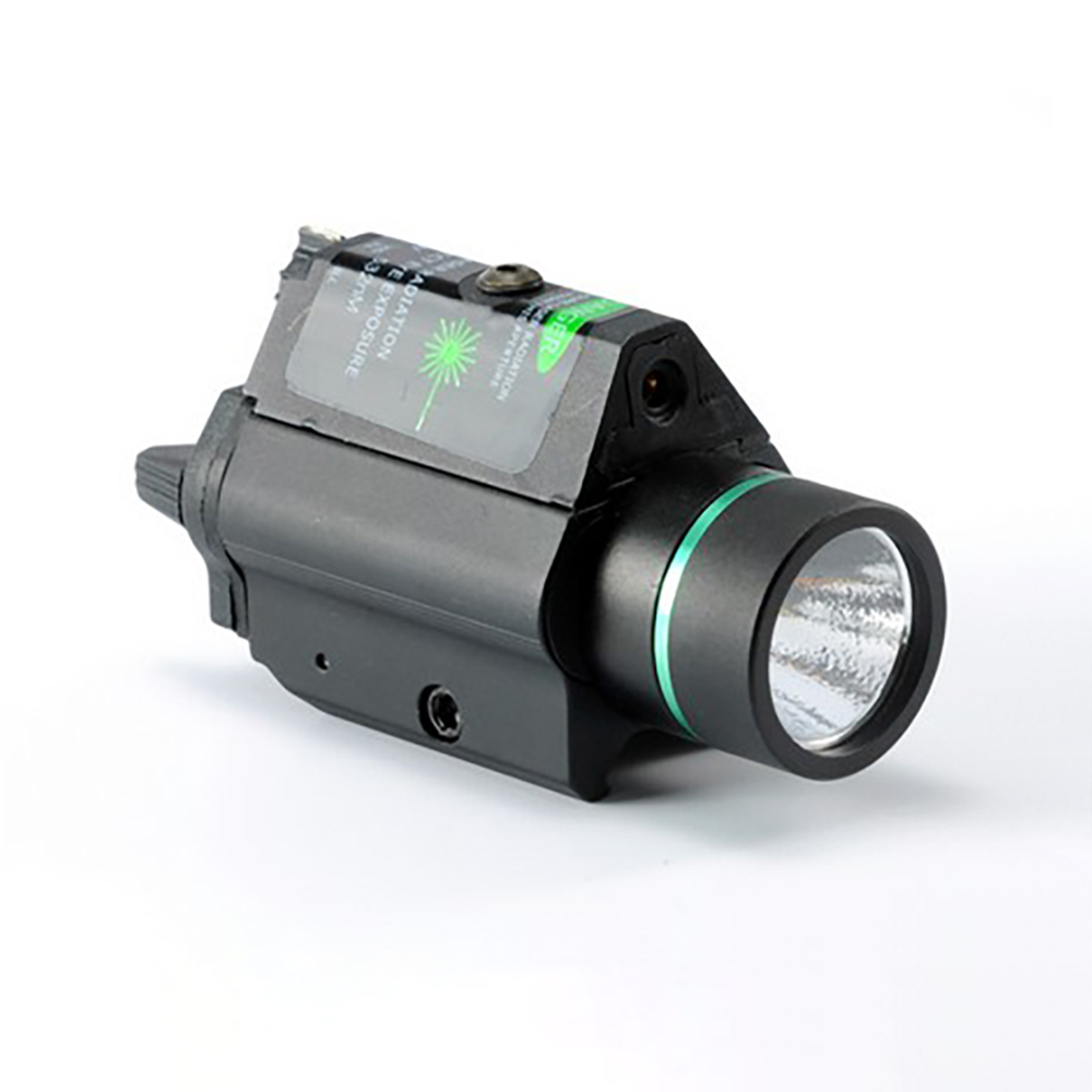 Tactical Combo Metal Green Red Dot Laser Sight LED Laser Flashlight with 20mm Rail Weaver Picatinny Fit For 20mm Rail Gun Glock-2